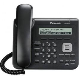 KX-UT123-B Panasonic Basic SIP Phone with 3 Line Backlit LCD Display