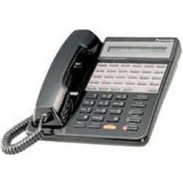 KX-T7135-B  Panasonic Refurbished  Speakerphone Large LCD 12 CO Line Black