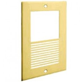 KX-A401 Panasonic Polished Gold Brass Face Plate for Premium Door Phone