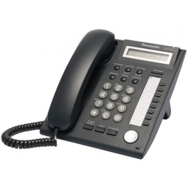 KX-DT321-B Panasonic Digital Proprietary Phone 1 line LCD Backlit 12 CO Key KX-DT321B Black