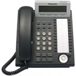 KX-DT343-B Panasonic Digital Proprietary Phone 3-line LCD Backlit 24 CO Key KX-DT343B Black