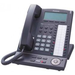 KX-NT136-B Panasonic Refurbished IP Telephone 6 Line LCD BackLit Speakerphone KX-NT136B Black
