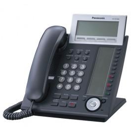 KX-NT346-B Panasonic IP Black Telephone - 24 CO buttons 6-Line Backlit LCD Speaker Phone