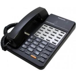 KX-T7020-B Panasonic Refurbished Speakerphone 12 CO Line KX-T7020B Black