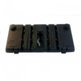 Panasonic Rear Body Shell Part for Any  7700 Series Black