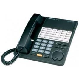 KX-T7425-B Panasonic Digital 24 Button Speakerphone KX-T7425B Black