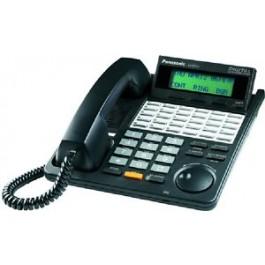 KX-T7453-B Panasonic  Refurbished Digital 24 Button Speakerphone 3-Line Display KX-T7453B Black