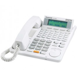 KX-T7453 Panasonic Refurbished  Digital 24 Button Speakerphone 3-Line Display White