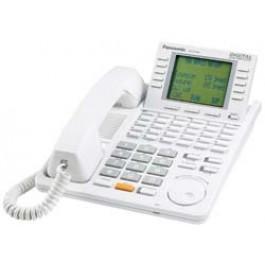 KX-T7456 Panasonic Digital 24 Button Speakerphone 6-Line Display White