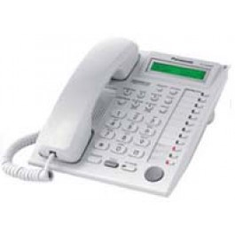 KX-T7667 Panasonic Refurbished Digital Proprietary Telephone 1-Line LCD Speakerphone 12 Button White