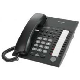 KX-T7720-B Panasonic Advanced Hybrid Proprietary Telephone 24 Button Speakerphone KX-T7720B Black