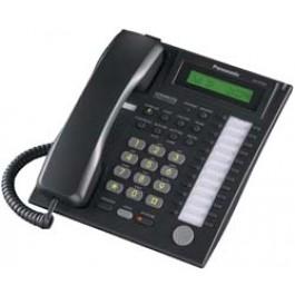 KX-T7731-B Panasonic Advanced Hybrid Proprietary Telephone 1-Line Backlit LCD Speakerphone KX-T7731B Black