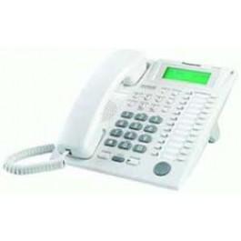 KX-T7737 Panasonic Advanced Hybrid Proprietary Telephone 3-Line Backlit LCD Talking Caller ID Speakerphone White