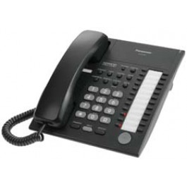 KX-T7750-B Panasonic Advanced Hybrid Proprietary Telephone 24 Button Monitor KX-T7750B Black