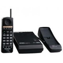 KX-T7880 Panasonic Refurbished 900 Mhz Wireless Multi-Line Phone Non-Display Cordless Telephone Black