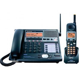 KX-TG4500B 5.8 GHz Expandable 4-Line Multi-Handset Cordless System with Caller ID and Answer Machine