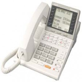 KX-T7235 Panasonic Digital Speakerphone 6-Line LCD 24 CO Line XDP KX-T7235B White Refurbished