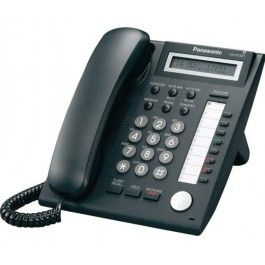 KX-NT321-B Panasonic Black IP Telephone 8 CO buttons 1-Line LCD 2nd LAN Por