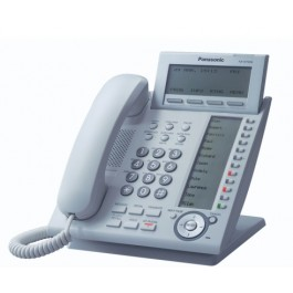 KX-NT366 IP Panasonic Telephone with 48 Buttons Self Labeling 6-Line Backlit LCD Speakerphone