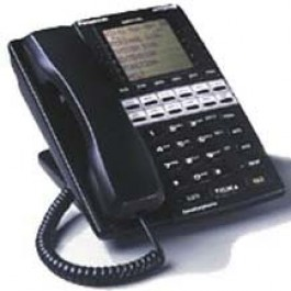 VB-44225 Panasonic Refurbished DBS Telephone 7-Line LCD Large Display 22 Button VB-44225-B Black
