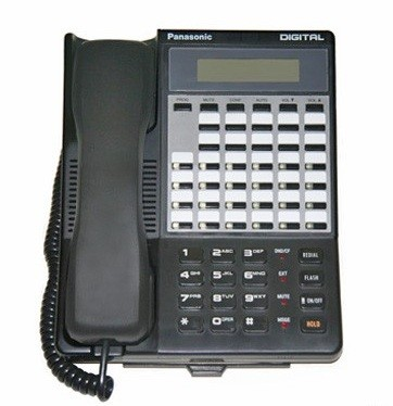 VB-43233 Refurbished Panasonic DBS Telephone 34 Button Display Speaker Black