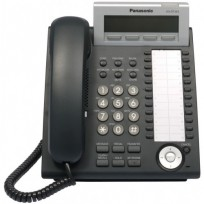 KX-DT343-B Panasonic Digital Proprietary Phone 3-line LCD Backlit 24 CO Key KX-DT343B Black