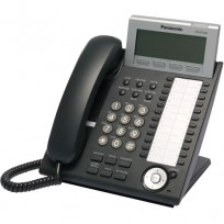 KX-DT346-B Panasonic Digital Proprietary Phone 6-line LCD Backlit 24 CO Key KX-DT346B Black
