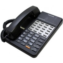 KX-T7020-B Panasonic Refurbished Speakerphone 12 CO Line KX-T7020B Black
