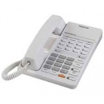 KX-T7050 Panasonic Refurbished Monitor Telephone 12 CO Line No Speakerphone White