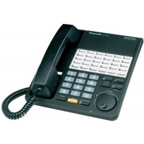 KX-T7425-B Panasonic Refurbished Digital 24 Button Speakerphone KX-T7425B Black