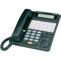 KX-T7433-B Panasonic  Refurbished  Digital 24 Button Speakerphone 3-Line Display KX-T7433B Black