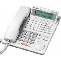 KX-T7433 Panasonic Refurbished Digital 24 Button Speakerphone 3-Line Display White