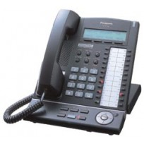 KX-T7630-B Panasonic Refurbished Digital Proprietary Telephone 3-Line LCD Speakerphone Black