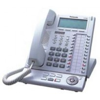 KX-T7636 Panasonic Refurbished Digital Proprietary Telephone 6-Line Backlit LCD Speakerphone White