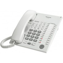 KX-T7720  Panasonic  Refurbished Advanced Hybrid Proprietary Telephone Speakerphone KX-T7720 White