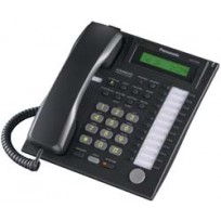 KX-T7731-B Panasonic Advanced Hybrid Proprietary Telephone 1-Line Backlit LCD Speakerphone KX-T7731B Black