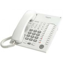 KX-T7750 Panasonic Advanced Hybrid Proprietary Telephone 24 Button Monitor White
