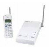 KX-T7885-W Panasonic 900Mhz Wireless Multi-Line Telephone 3-Line Backlit LCD Display 12 CO Line Headset Jack