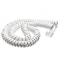 Replacement Handset Cord Gloss White