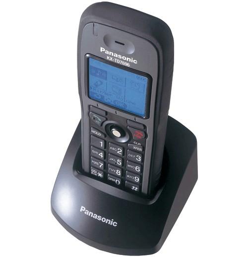 Kx Td7696 Panasonic Rugged Cordless Dect Black