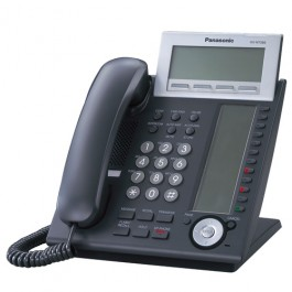 KX-NT346-B Panasonic IP Black Telephone - 24 CO buttons 6-Line Backlit LCD Speaker Phone