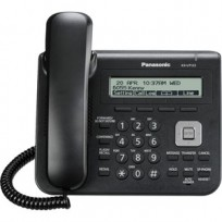 KX-UT123-B Panasonic Basic SIP Phone with 3 Line Backlit LCD Display