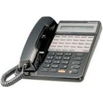 KX-T7135-B  Panasonic Refurbished  Speakerphone Large LCD 12 CO Line Black