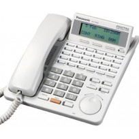 KX-T7433 Panasonic Refurbished Digital 24 Button Speakerphone 3-Line Display White