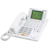 KX-T7456 Panasonic Digital 24 Button Speakerphone 6-Line Display White