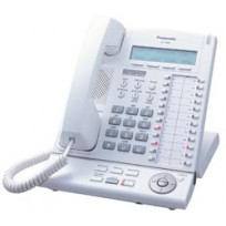 KX-T7630 Panasonic Refurbished Digital Proprietary Telephone 3-Line LCD Speakerphone White