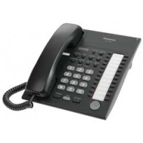KX-T7720-B Panasonic Advanced Hybrid Proprietary Telephone 24 Button Speakerphone KX-T7720B Black