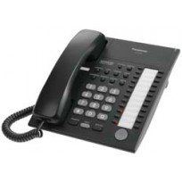 KX-T7750-B Panasonic Advanced Hybrid Proprietary Telephone 24 Button Monitor KX-T7750B Black