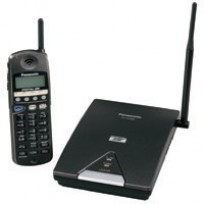 KX-TD7895 Panasonic Refurbished 900 mHz Digital Spread Spectrum SST Multi-Line Telephone with 3-Line LCD Display Black