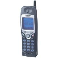 KX-TD7896 Panasonic Refurbished System Cordless Phone 2.4 GHz FHSS Multi-Line Wireless System Telephone w/Backlit LCD Display Black
